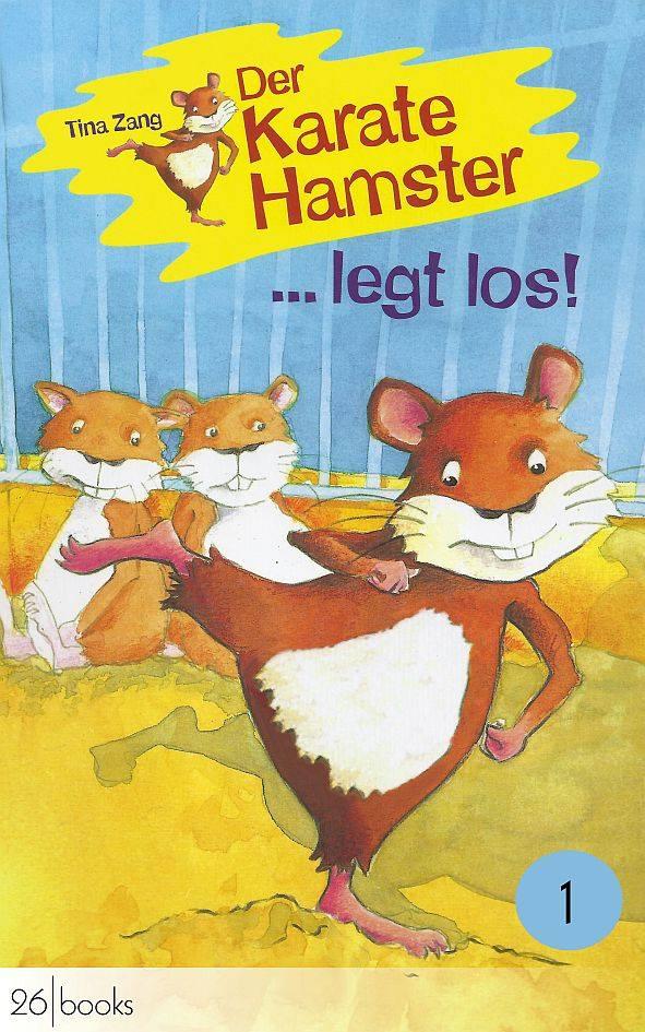 """""""Der Karatehamster"""" eines der Lieblingsbücher von Lisa, 9 Jahre"""